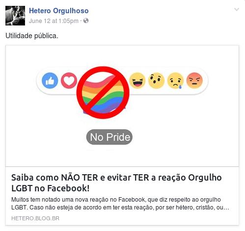 #Orgulho Hétero?